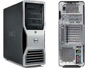 Dell-precision workstation T7400-Quad core -48GB