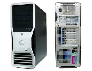Powerful Dell tower: 8 cores + 16GB RAM +NVidia GeForce FX 4500
