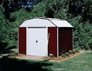 RED BARN STORAGE SHED 10 x 8'
