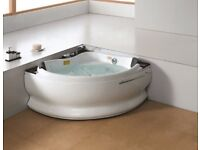 Brand New Luxury 2 seater massage bath