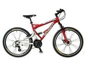 Aluminum Full Suspension Mountain Bike