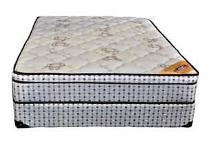 Pillow top organic mattress single $199 double $250 queen $ 275