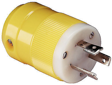 - Marinco Marine Electrical Plug 20A/125V Male Locking Shore Power Connector