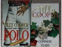 Jilly Cooper books, 50p-£1.50 each
