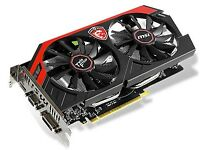 MSI NVIDIA GeForce GTX 750 Ti GAMING 2GB Card