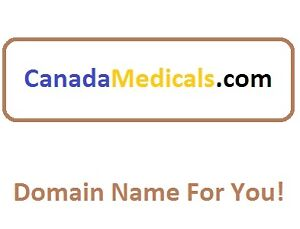 Domain CanadaMedicals . com For your new medical site