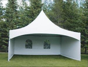 mur de coté pour tente type Warner, Tentnology