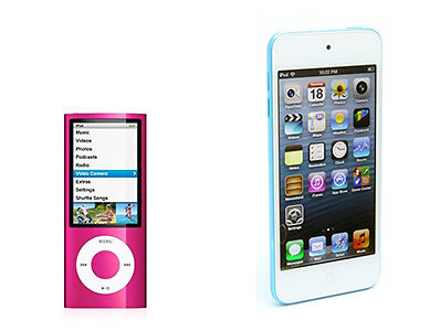 The Differences Between iPod Nano and iPod Touch