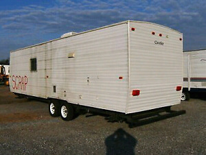 Iso free scrap house, travel or tandem trailer