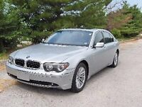 2003 BMW 7-Series trade for boat