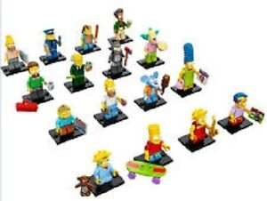 LEGO SIMPSONS SERIES 1 COMPLETE SET OF 16 $100