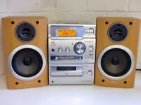 Sony Stereo for sale in excellent working condition with original remote and speakers