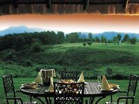 5 Star serviced holiday chalet (8 sleeper) in Drakensburg South Africa 1-7 July 2017