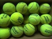 30 used tennis balls for £10