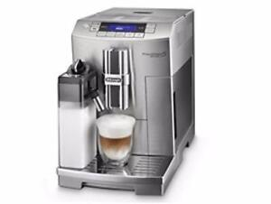 Delonghi PrimaDonna Deluxe Patented Single Touch Cappuccino ECAM28465M