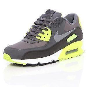 3598326103 Nike Air Max 90 Womens Premium Black White Blue