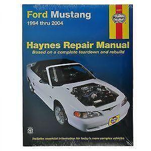 2005 09 mustang service manual free owners manual u2022 rh wordworksbysea com Mustang Restoration Manual 04 Ford Mustang Repair Manual