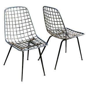 Wire Chair Ebay Rh Ebay Com Eames Wire Chair Retro Wire Furniture