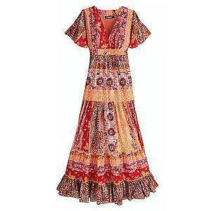 Hippie kleid gunstig