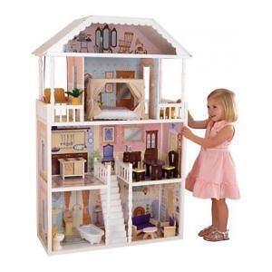 Wooden Barbie Doll Houses Ebay Oscargilaberte Com