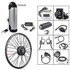 250W 36V Hub Motor Electric Bike Conversion Kit for Kinds of