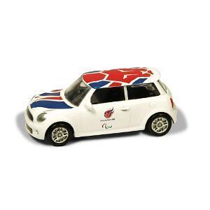 Corgi Great Britain London 2012 Team GB Olympic BMW Mini Cooper S - Paralympics