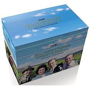 ALL CREATURES GREAT AND SMALL series 1 to 7 + Xmas specials. Box set. New DVD.