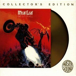 Meat Loaf - Bat Out Of Hell (Collector's Edition 24k Gold Disc) NEW & SEALED