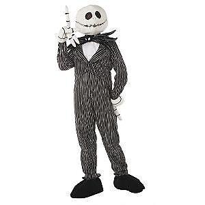 NWT Disney Nightmare Before Christmas Jack Skellington Adult Large Plush Costume