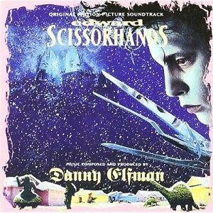 DANNY ELFMAN (COMPOSER)/OST - EDWARD SCISSORHANDS  CD 17 TRACKS SOUNDTRACK NEW