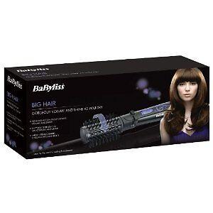 babyliss big hair rotating styling brush model 2775u