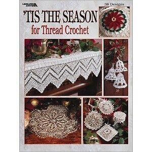 Crochet Pattern Thread Crochet Holiday Season Christmas Bells Clothespin Angels