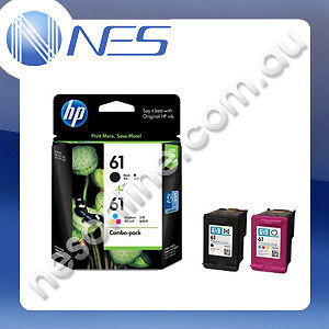 HP Genuine No 61 Black & Colour Ink Pack CR311AA for Deskjet 1050/2050/3050 #61