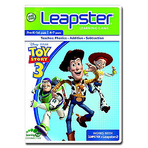 Leapfrog Leapster Educational Game Cartridge - Toy Story 3 Ages 4-7