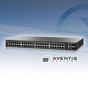 NEW-SLM2048T-NA-Cisco-Small-Business-SG200-50-Managed-Switch-48-Ports-Gigabit