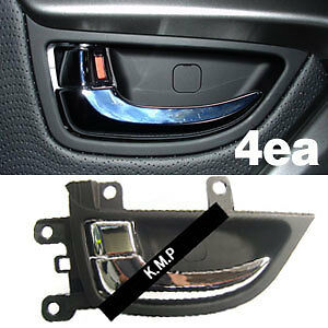 inner inside interior chrome door handle fit hyundai 2011. Black Bedroom Furniture Sets. Home Design Ideas