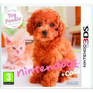 Nintendogs + Cats - Toy Poodle + New Friends Nintendo 3DS Brand New