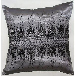 Moroccan Sequin Sparkle Cushion Cover in 3 colours ***FREE P&P***