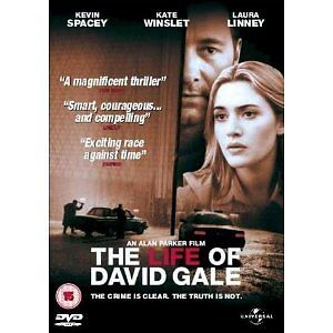 Life of David Gale (The) – Kate Winslet & Kevin Spacey (R4 DVD) New - Sealed