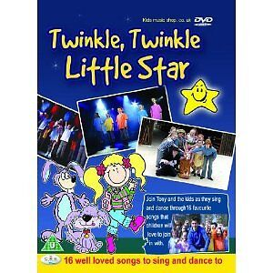 Twinkle Little Star Children's Songs For Fun and Dance DVD inc Happy Birthday