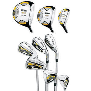 2011-Wilson-Prostaff-LCG-Mens-Golf-Clubs-11-Piece-Set-Right-Handed-Brand-New