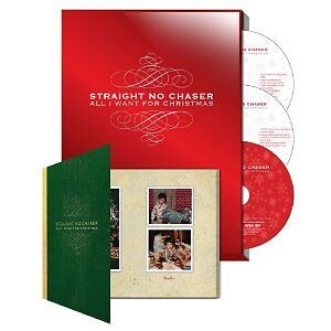 Straight No Chaser Christmas 2 CD + DVD set Seen on PBS