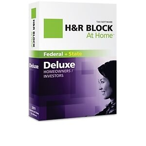 H-R-BLOCK-At-Home-2011-Federal-State-Deluxe-SEALED-New-Retail-Box-Efile-MAC-PC