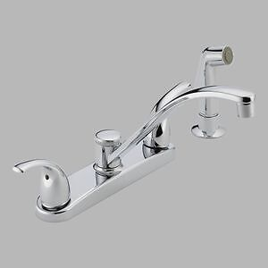 Peerless Delta Choice P299508lf Two Handle Kitchen Faucet