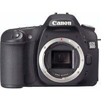 Canon 30D (boîtier seulement) (pour pièces ou réparation)