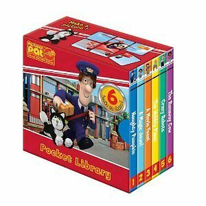 Postman Pat Pocket Library 6 Book Set collection NEW