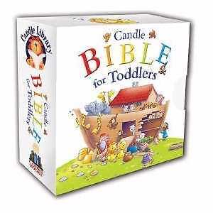 Candle Bible For Toddlers Package of 6 Board Books in a Slipcase