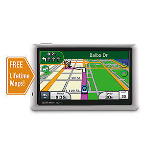 Garmin-Nuvi-1450LM-Automotive-GPS-Receiver-Lifetime-Maps-1-Year-Garmin-Warranty
