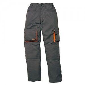 Pantaloni-da-Lavoro-Grigio-Arancio-Multitasche-Panoply