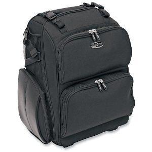 Saddlemen Motorcycle Sissy Bar Luggage Bag Black Spd2600 Street Harley Touring